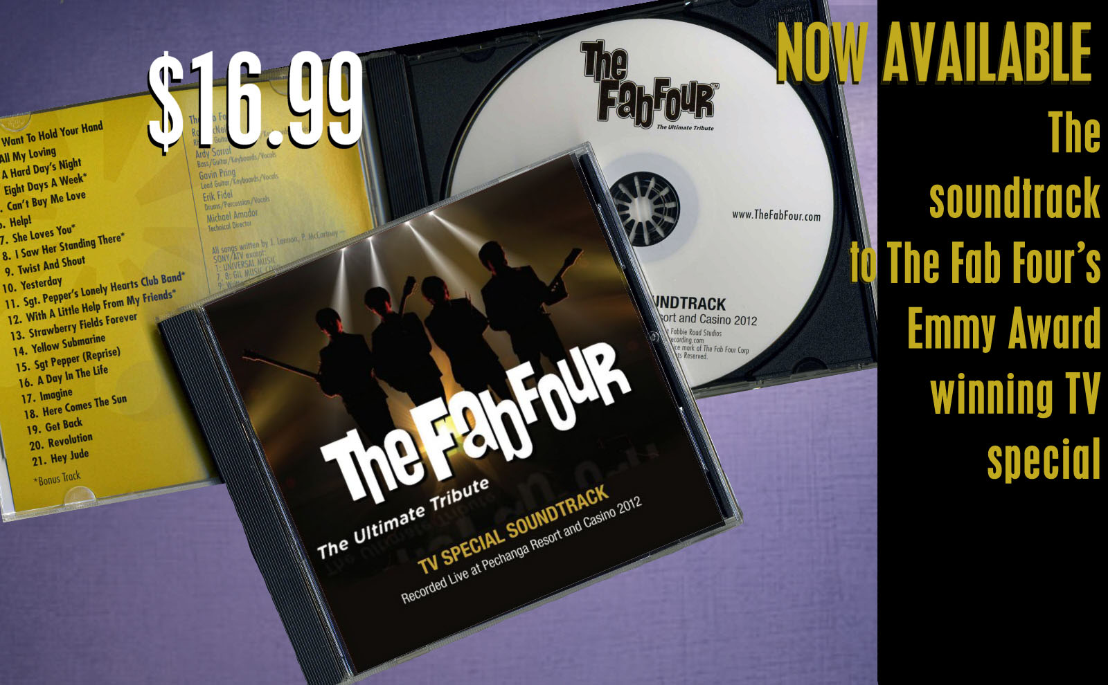 2595769e1433 The Fab Four  The Best Beatles Tribute Band